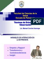 1 Variables Interaccion Empatia Raport