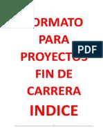 k Formato Con Indice Automatico SINFORMATO