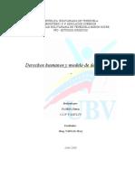 La Primacía de los Derechos Humanos en la Construcción de un Nuevo Modelo de Desarrollo Socialista en Venezuela