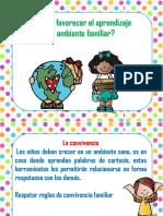 3 Como Favorecer El Aprendizaje en El Ambiente Familiar