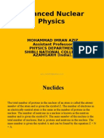 Advanced Nuclear Physics by imran aziz