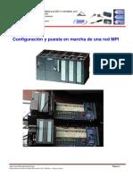 Configuración y puesta en marcha de una red MPI
