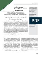 Accidente cerebrovascular embólico secundario a fibroelastoma papilar de válvula mitral.pdf