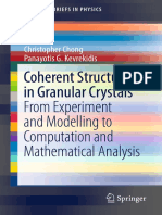 (SpringerBriefs in Physics) Christopher Chong, Panayotis G. Kevrekidis - Coherent Structures in Granular Crystals-Springer International Publishing (2018).pdf