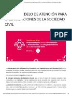 Nuevo Modelo de Atención Para Organizaciones de La Sociedad Civil _ Gobierno Del Estado de Jalisco
