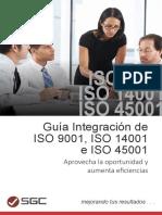 ISO 9001 ISO 14001 e ISO 45001