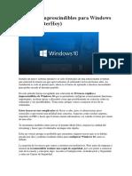25 Trucos imprescindibles para Windows 10 (ComputerHoy)