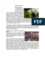 Cristobal Colon y Sus Cuatro Viajes