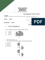 Evaluacion Círculo 7mo Año (3 Copias x Ambos Lados)