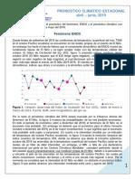 Pronostico Climatico Amj 2019