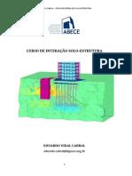 Apostila Eduardo Cabral - Interação Solo-Estrutura