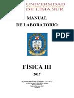 MANUAL DE FISICA III  2017.pdf