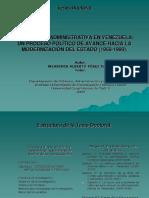 Reforma Administrativa en Venezuela