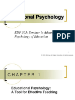 1 Introduction to Educational Psychology