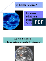 intro on earth science