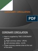 Coronary Circulation f