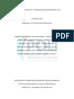 Proyecto Seminario Actualización Psicología I - 2da Entrega Semana 5 (Metodología Estudio de Caso TOC)