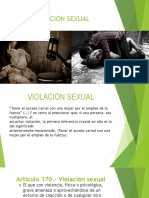Diapositivas Dere3cho Penal 2 Violacion Sexual