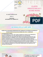 Claves Obstetricas y Score Mama