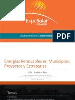 Energías Renovables en Municipios Proyectos y Estrategias