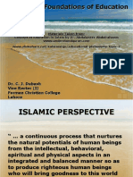 Ideological Foundations of Education by Dr. Dubash