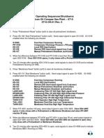 Secuencia de Arranque - Planta Gas 0715-Os-01 r0