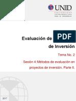 Evaluación de Proyectos TIR TMAR