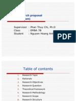 N.H.anh Research Proposal EMBA7B