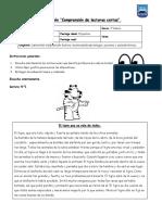 Evaluación comprensión de lecturas cortas N°5.docx