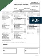TRAMO 3 - Inspección de Pre Uso de Vehículo y Equipo Móvil.xls