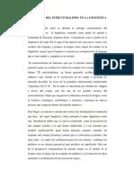 EL ESTRUCTURALISMO  EN LA LINGÜÍSTICA OFICIAL.docx