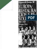 Jacques Droz, Ignacio Romero de Solís (trad.) - Europa. Restauración y revolución (1815-1848) (1984, Siglo XXI).pdf