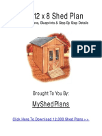 How to Build a Shed Step by Step Free Guide