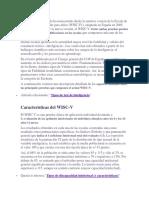 CARÁCTERÍSTICAS DEL WISC V.docx