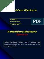Incidentaloma Hipofisario