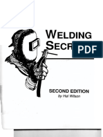 Welding Secrets Second Edition by Hal Wilson