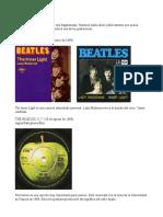 Apuntes Beatles