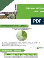 Cifras Sectoriales - 2018 Enero Platano