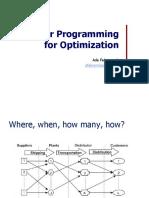 2018 1 Linear Programming