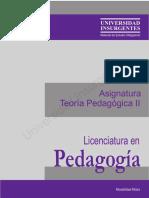 B02 Teoría Pedagógica II ME (1)