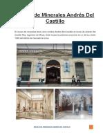 Museo de Minerales Andrés Del Castillo
