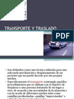12. Transporte y Traslado