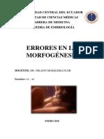 SEMINARIO teratologia