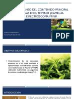 Análisis simultáneo del contenido principal de las catequinas.pptx