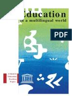 Education in a multilingual world.pdf