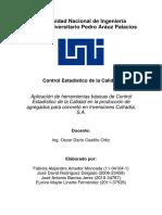 Proyecto - Control Estadistico de La Calidad (Corregido)