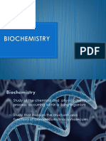 A. Biochemistry (Cell and Carbohydrates)
