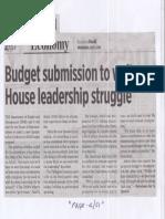Business World, July 3, 2019, Budget submission to wait on House leadership struggle.pdf
