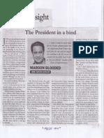 Malaya, July 3, 2019, The President in a bind.pdf