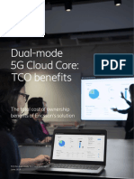 Tco for Dual Mode Cloud Core 5g Report Screen Aw